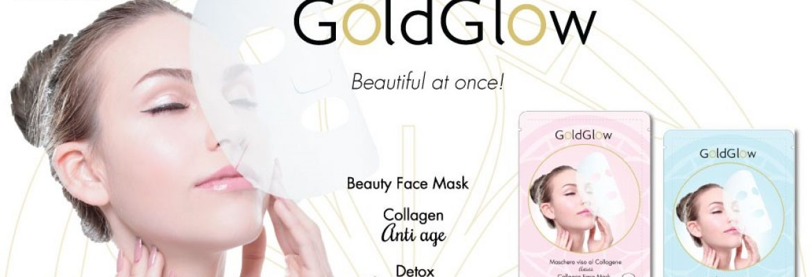 gold glow beauty face